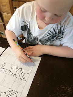 A review of the ArtAchieve online art lessons that we've been using in our homeschool through the Homeschool Review Crew.