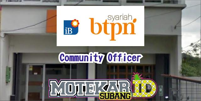 Info Lowongan Pekerjaan BTPN Syariah Community Officer Subang April 2019