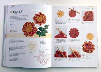 Marigold - Crochet Flowers Step-by-Step