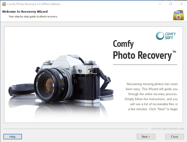 comfy photo recovery registration key