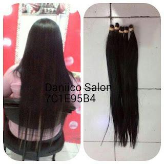 Juragan Rambut - Hair Extension 60cm 100 Helai