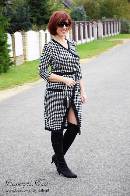 ZAFUL | sukienka pepitka | dress.
