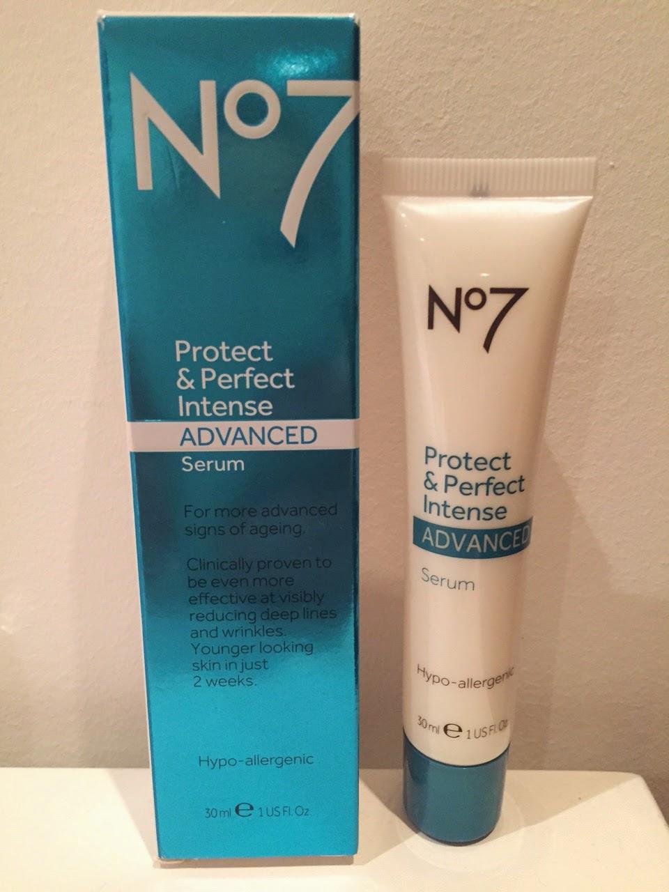 No 7 protect and perfect intense serum reviews