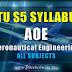 S5 Syllabus Aeronautical Engineering [AOE S5]