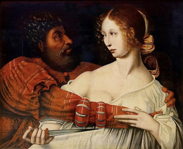 Jan Sanders van Hemessen: Tarquinio e Lucrezia