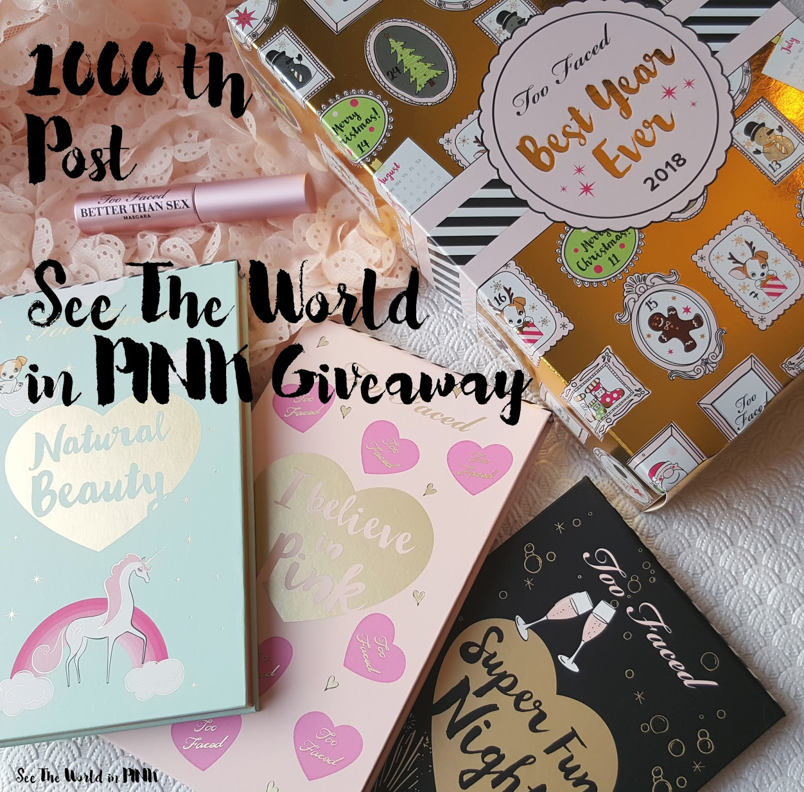 See The World in PINK's 1000 Post Giveaway!