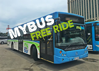 MyBus Free Ride from BDO Fuente to SM Seaside