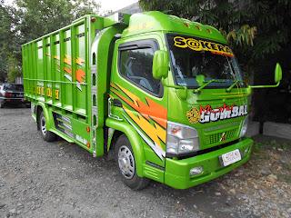 25 Foto gambar modifikasi truk canter sakera ceper terbaru di Indonesia full variasi
