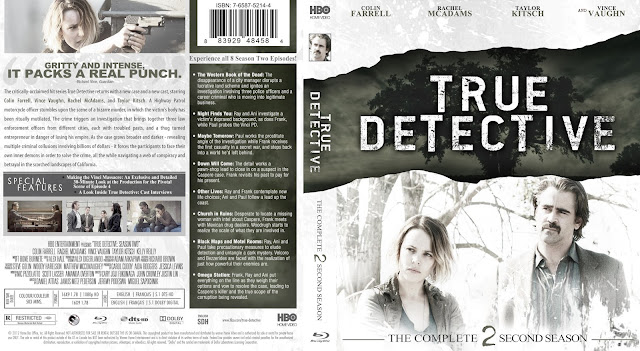 True Detective Season 2 Bluray Cover