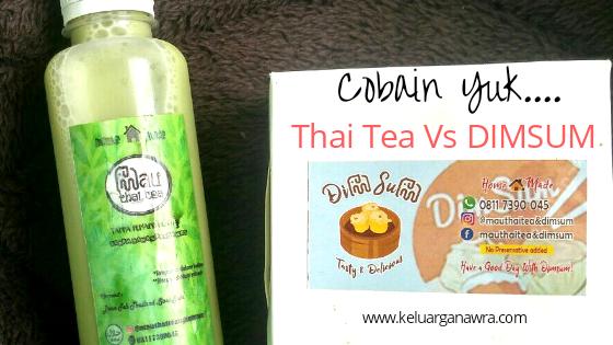 Duet Sedap Thai Tea dan Dimsum yang Bikin Kamu Ketagihan