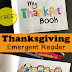 Thanksgiving Emergent Reader: My Thankful Book