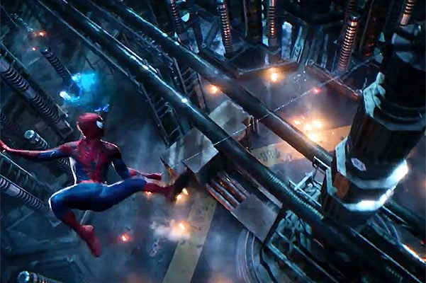 Andrew Garfield and Emma Stone in the teaser of the new Spider-Man