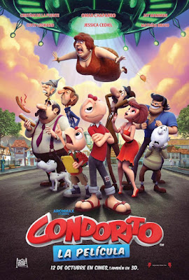 Condorito La Película 2017 DVD R1 NTSC Latino