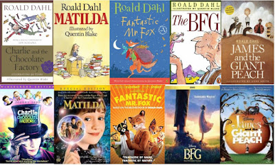 Roald Dahl Books & Movies