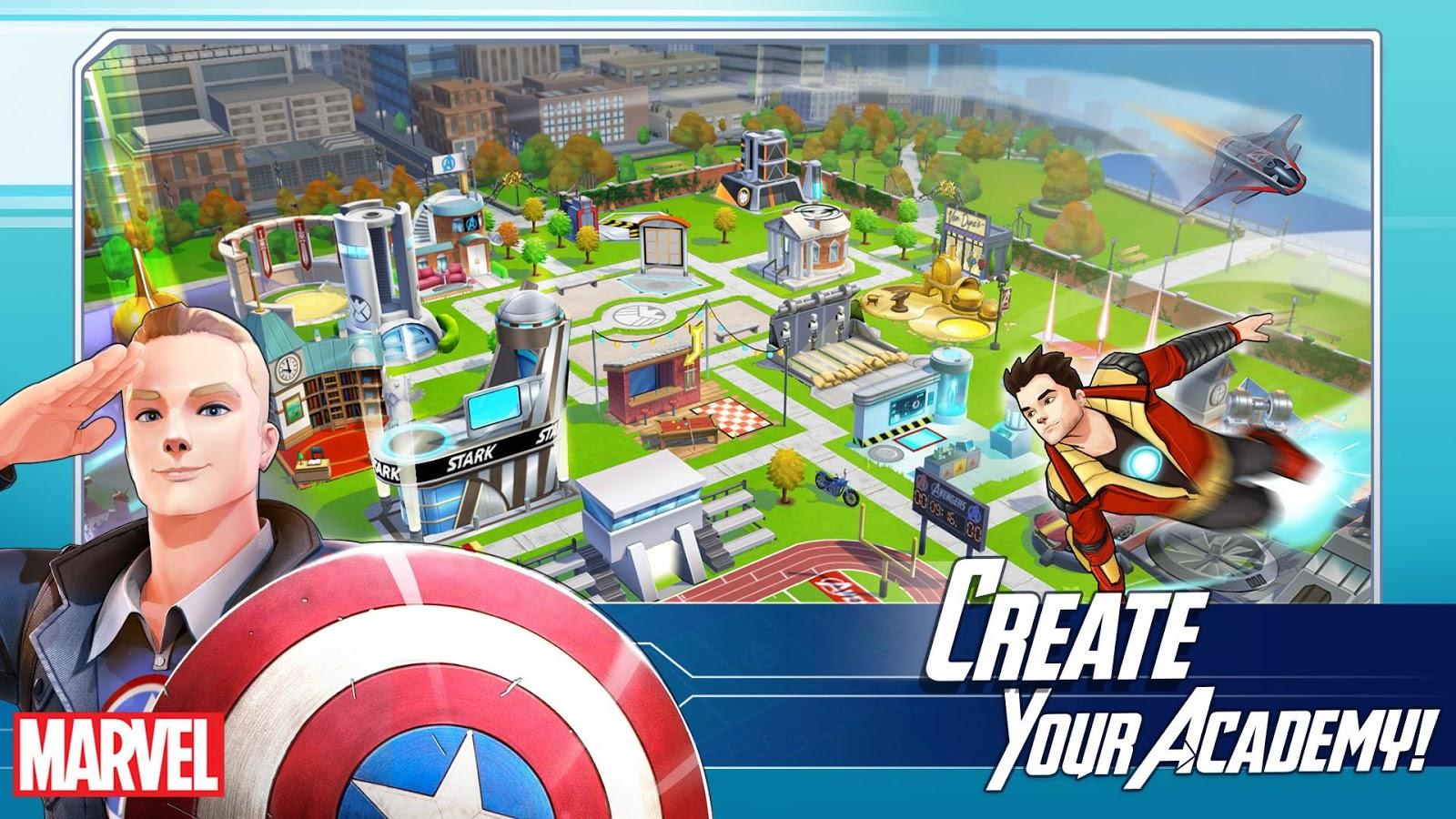 Marvel Avengers Academy   93 MB