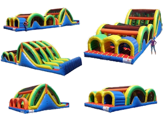 Phoenix AZ biggest inflatable obstacle course rentals
