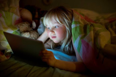 TV and computer make kids more nervous