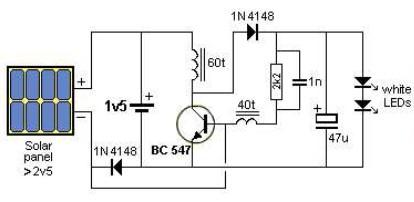 Build+a+Solar+Garden+Light+Circuit+Diagram Harbor Freight Security Camera Wiring Diagram on