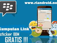Kumpulan Link BBM Free Sticker Apk Terbaru dan Terupdate 2016