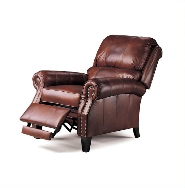 lane leather recliner