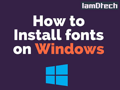 {Full Guide} How to Install Fonts on Windows 10/8/7