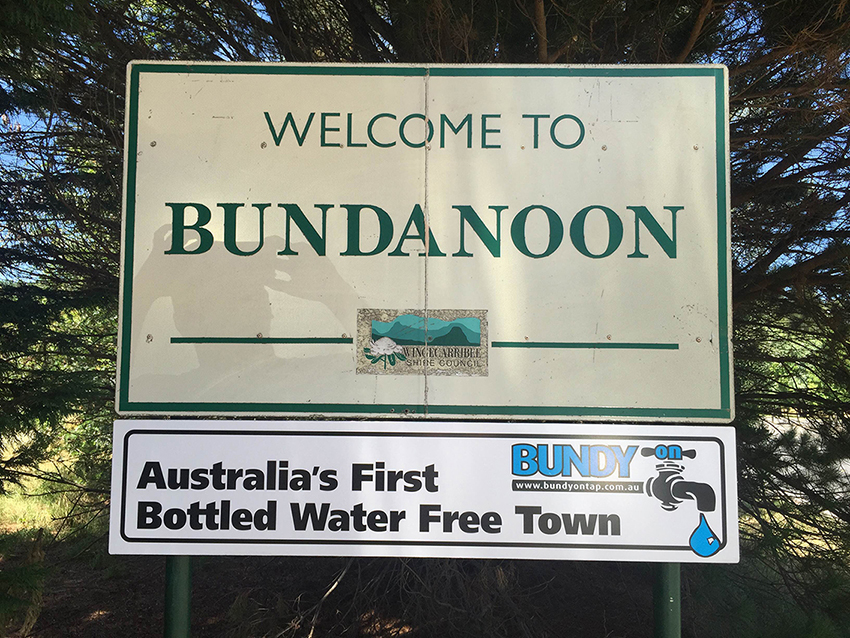 Bundanoon: Australia's first bottled water free town