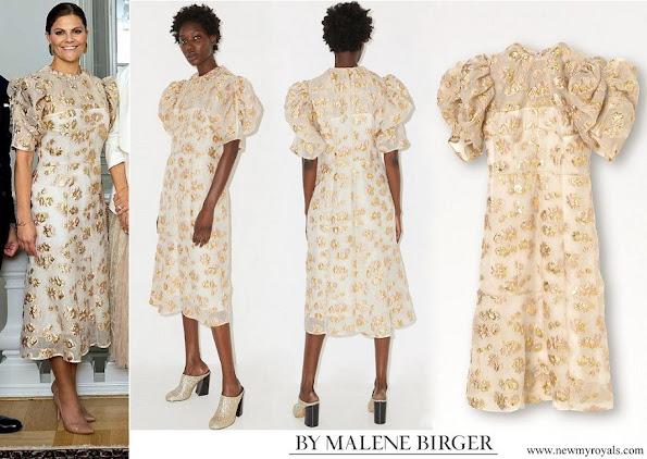 Crown Princess Victoria wore By Malene Birger Amalfi dress