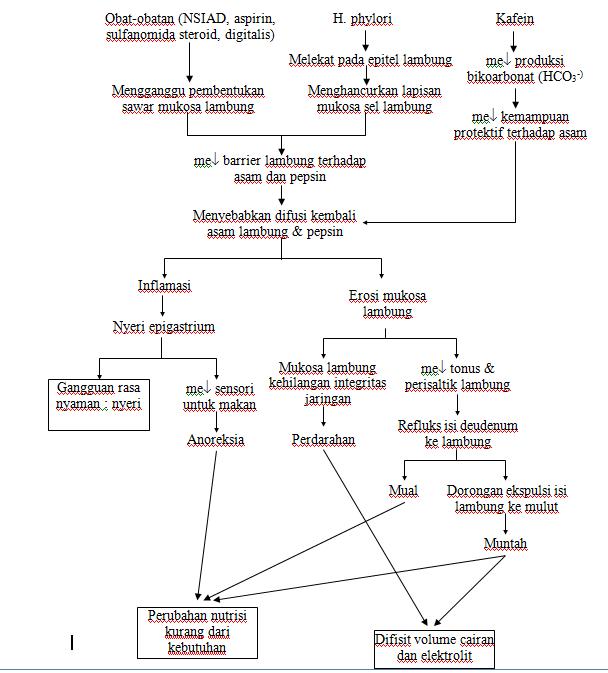 Daymd Askep Gastritis