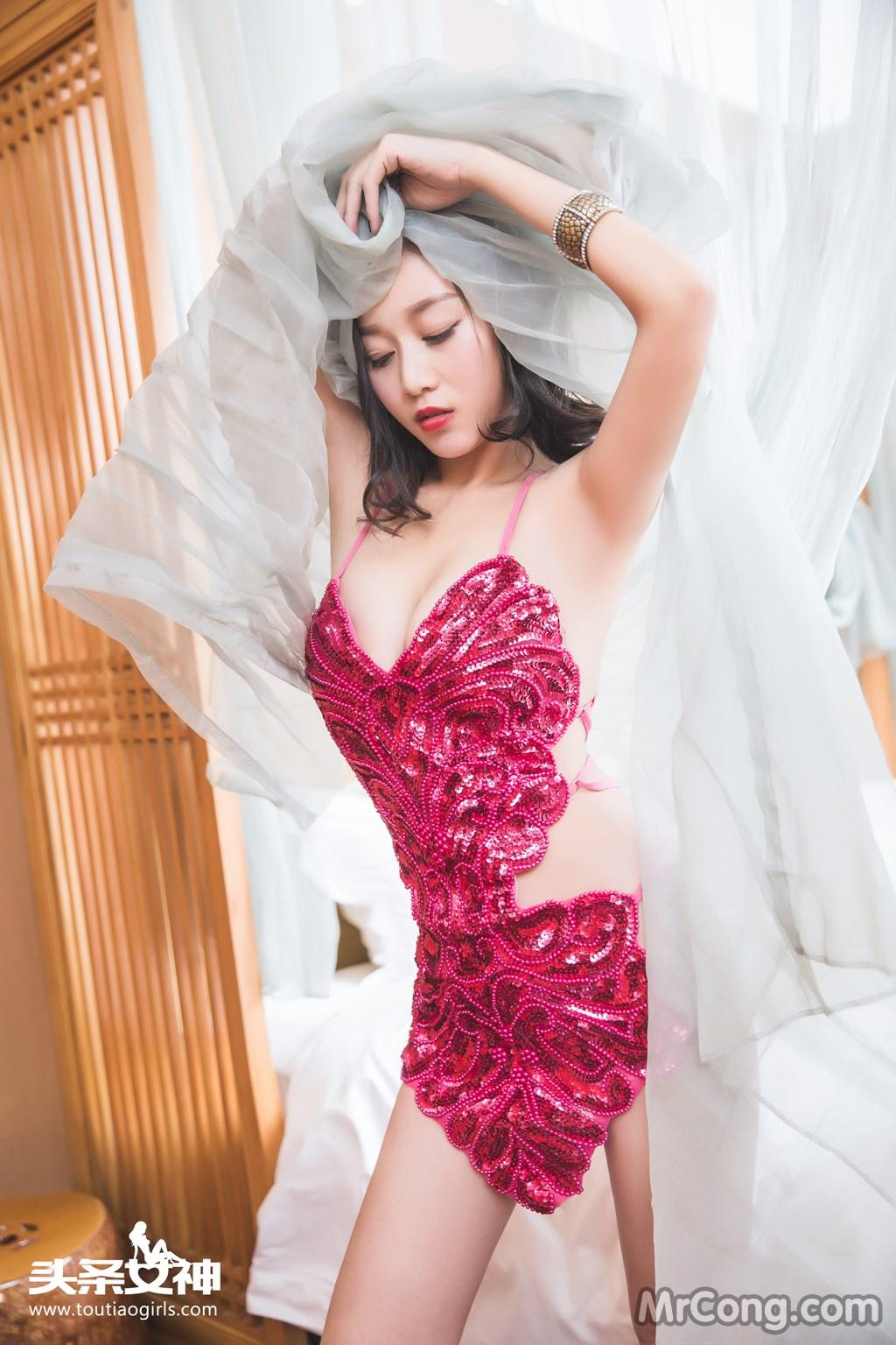 Image MrCong.com-TouTiao-2016-12-20-Zhang-Zi-Ran-009 in post TouTiao 2016-12-20: Người mẫu Zhang Zi Ran (张梓然) (30 ảnh)