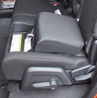 For convenience and security, the Dodge Journey offers optional built in child booster seats.
