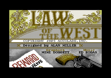 La ley del oeste Vs Law of the west