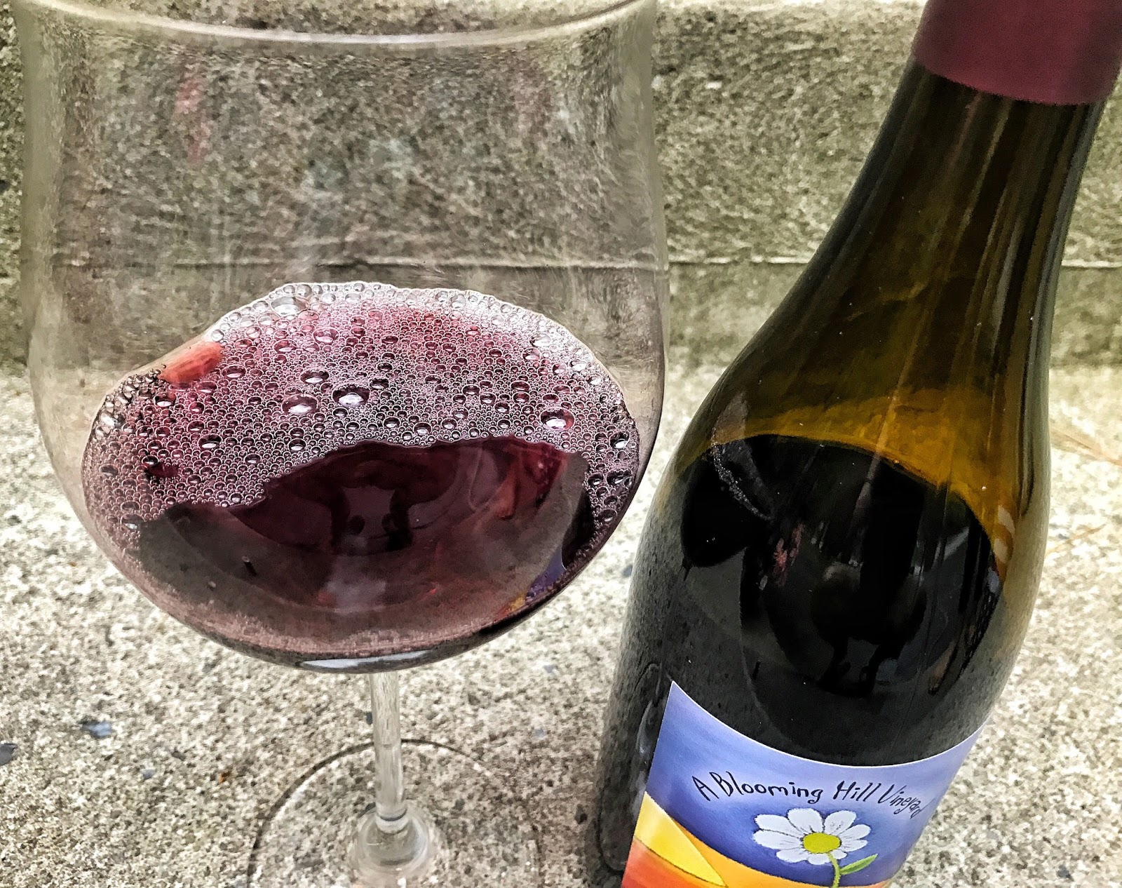 The Nittany Epicurean: 2014 A Blooming Hill Vineyard Pinot Noir Gemini