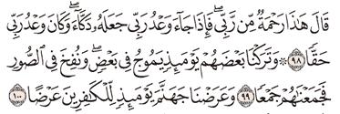 Tafsir Surat Al-kahfi Ayat 96, 97, 98, 99, 100
