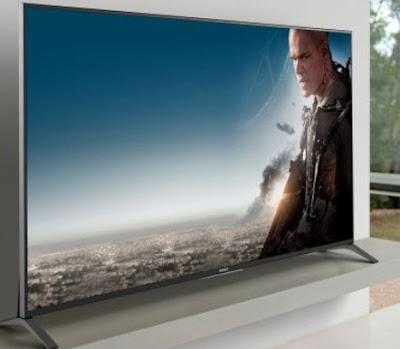 noleggio televisore 75 80 pollici ultra hd 4k