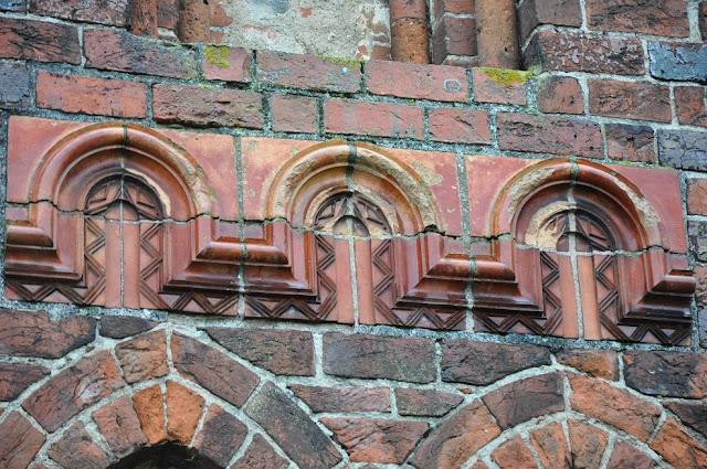 Kołbacz pocysterski kościół przy klasztorze - detal