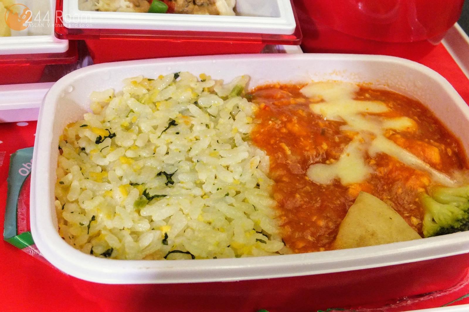 JAL U-35中華機内食 U-35 Flight meal3