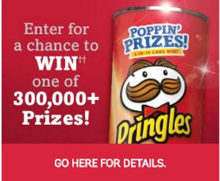 Pringles Poppin' Prizes Contest