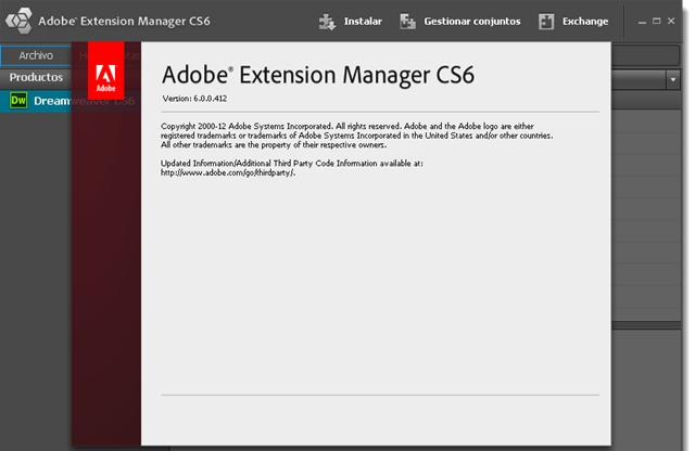 Adobe Dreamweaver CS6 v12 Español 2012 Descargar 1 Link