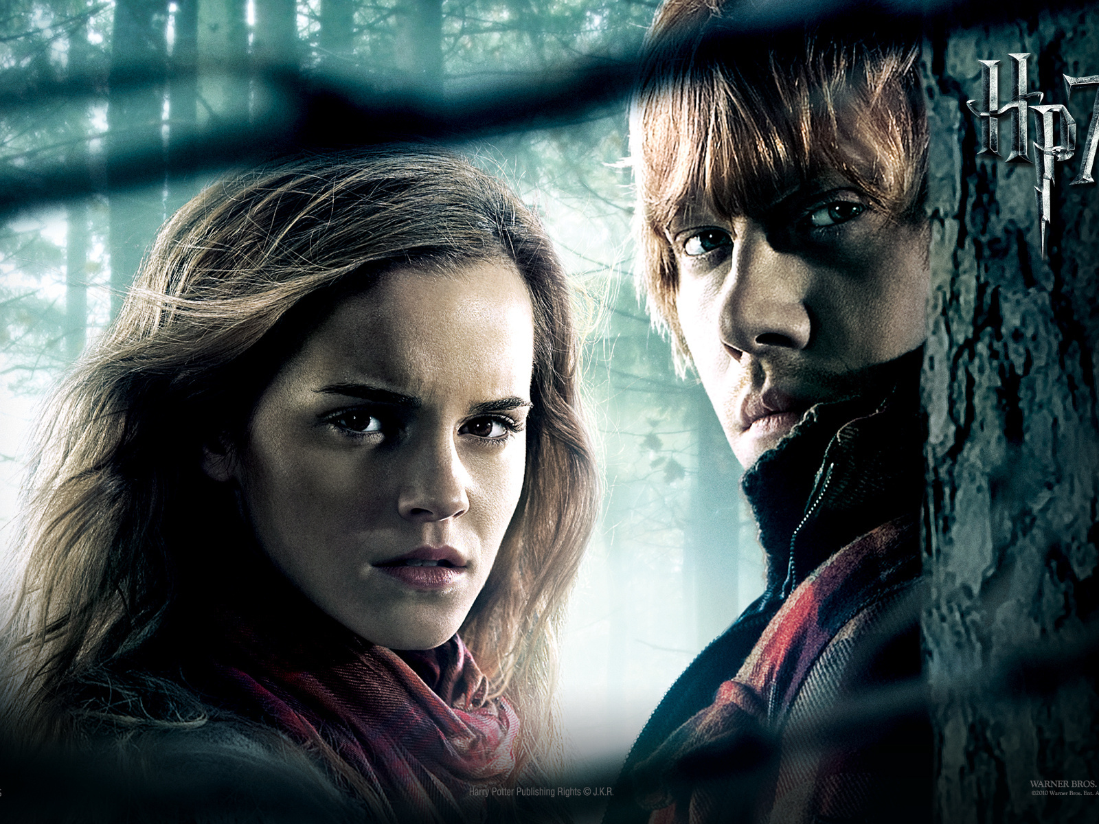 Ron Wesley and Hermione Granger ...