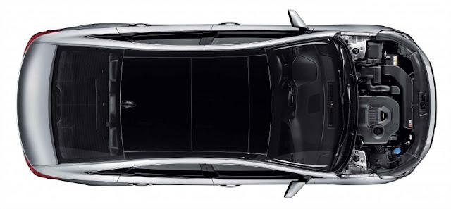 Hyundai Sonata sử dụng động cơ xăng 2.0 lít cam kép với CVVT