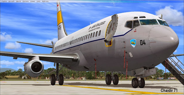 Captain sim Boeing 737-200 Livery FSX - Ariel Creation - Flight