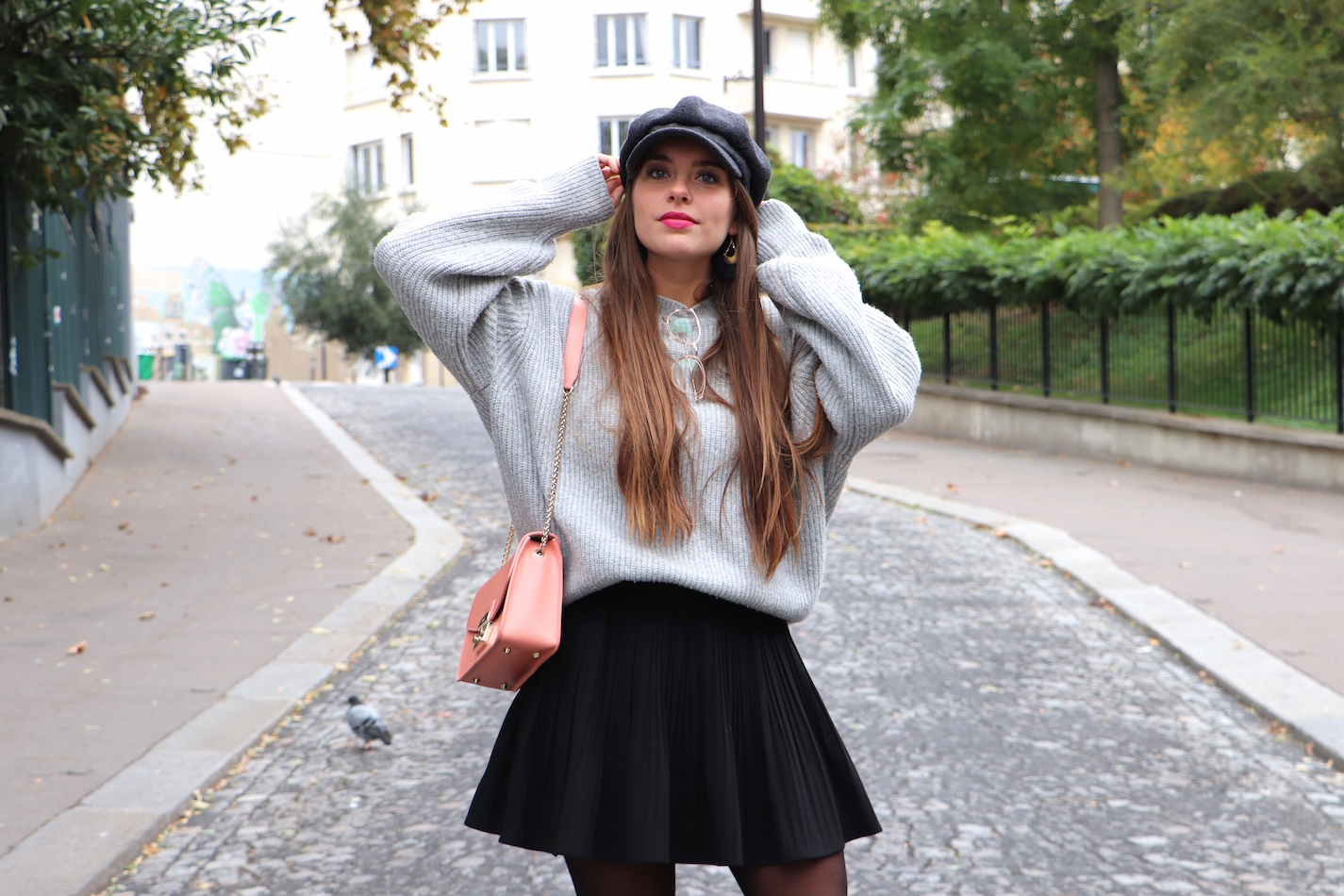 blogueuse mode casquette