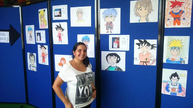 Exposición de dibujo manga en Panamá