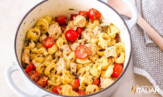 Tortellini Recipe in the Dutch oven