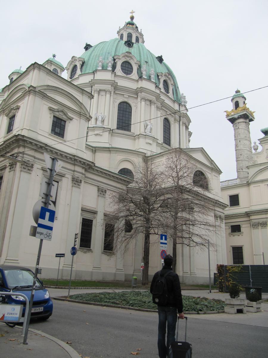 iglesia de san Carlos Borromeo, iglesias de Viena