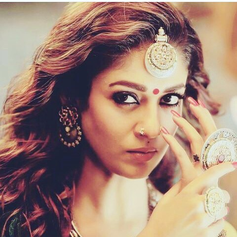 Nayanatara Ethereal Image Gallery In Kashmora Movie first time paired with Actor Karthi