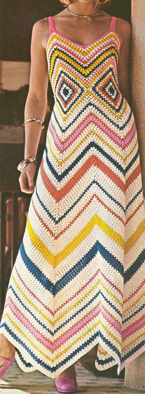 Christening Crochet Dress Free Pattern Vintage Crochet