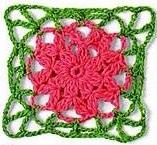 Patrón #1261: Granny a Crochet