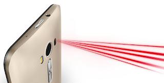 Teknologi Laser auto focus pada smartphone Asus