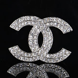 CLICK Sparkly Brooch for Women